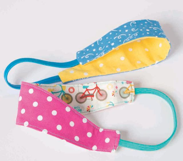 Reversible Headband from I Sew For Fun by Nancy Zieman