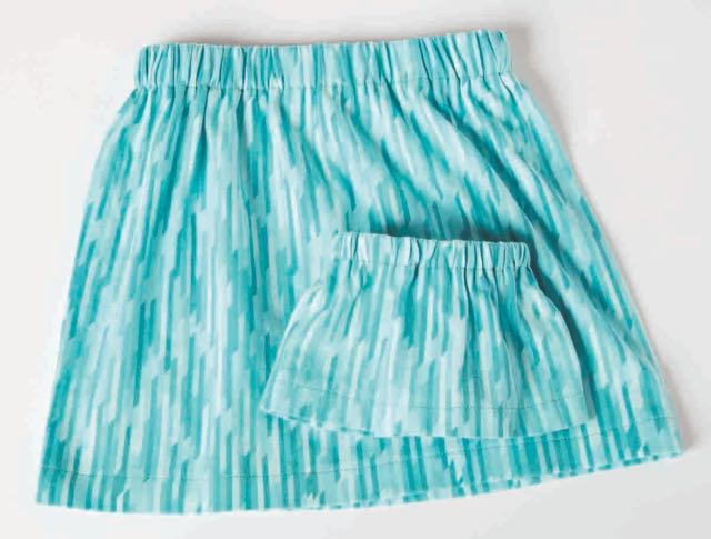 Nancy Zieman's I Sew For Fun Skirts for Girls and 18-inch Dolls