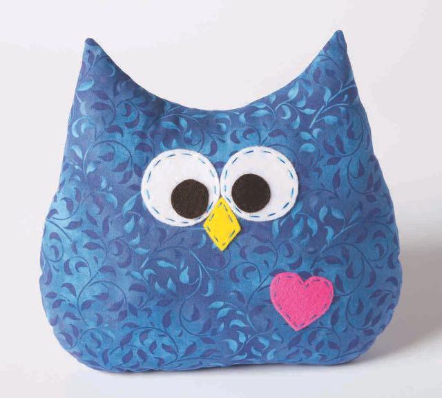 Nancy Zieman's I Sew For Fun Owl Pillow