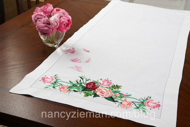 Learn Machine Embroidery in Six Easy steps on Sewing With Nancy Zieman