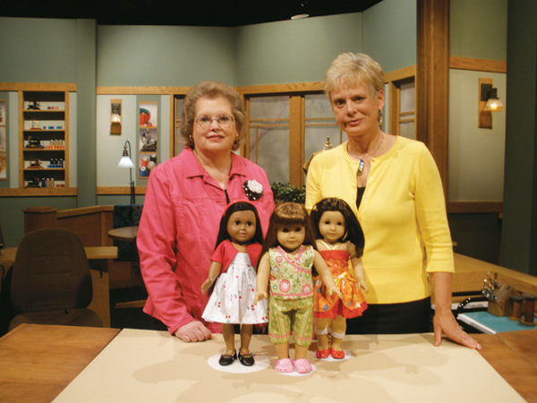 30-Minute Doll Clothes with Joan Hinds and Nancy Zieman - Sewing With Nancy
