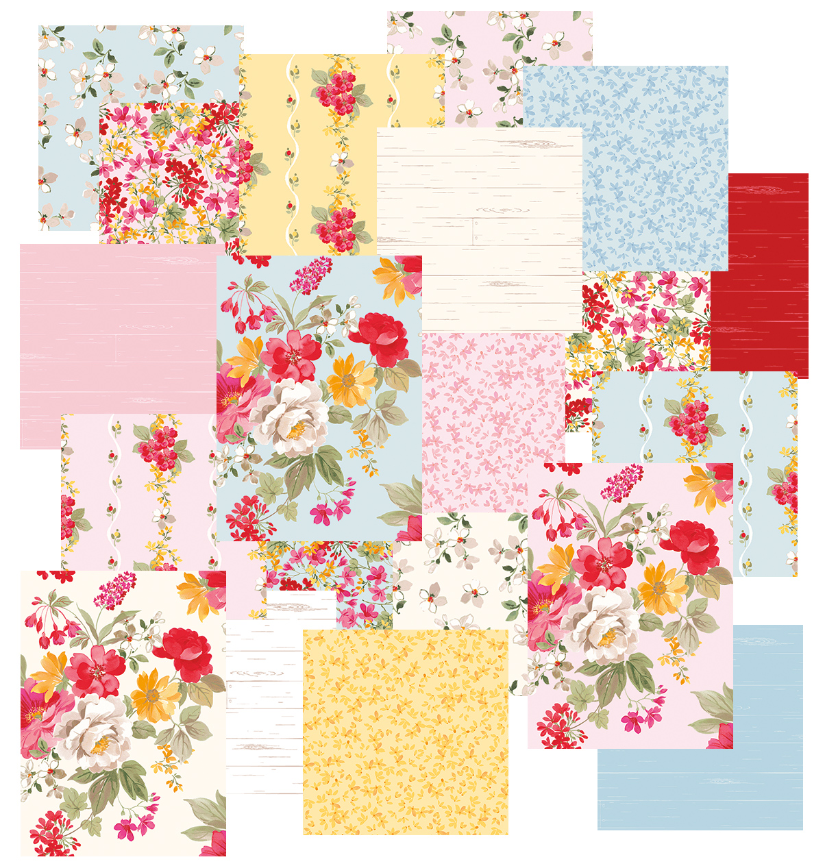 Farmhouse Florals by Nancy Zieman for Penny Rose Fabrics | Riley Blake