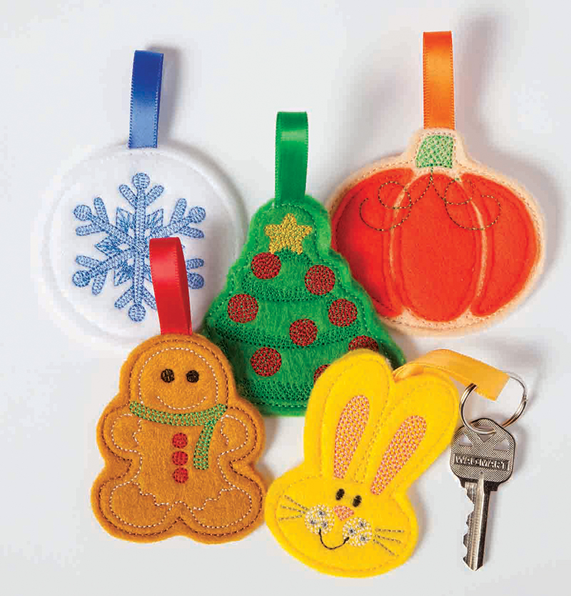Cute Key Fobs by Amazing Designs and Nancy Zieman