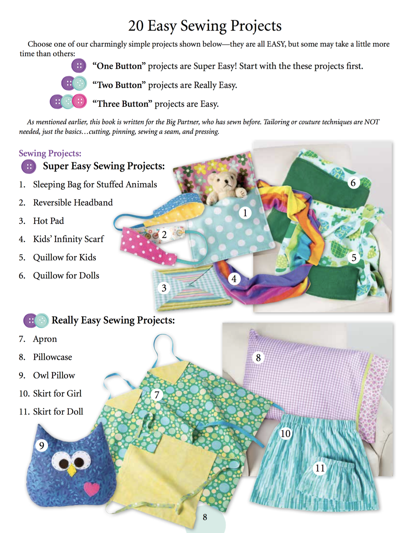 I Sew For Fun Book by Nancy Zieman Page 8