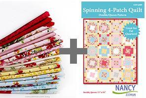 Prize FatQuarter Pattern NancyZieman 2
