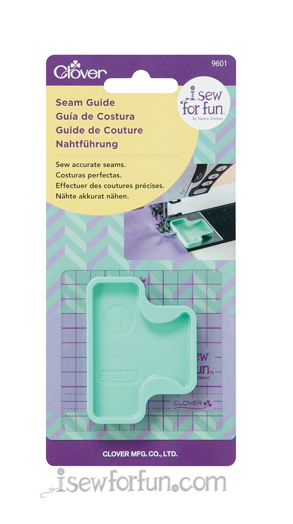 I Sew For Fun Seam Guide by Nancy Zieman for Clover