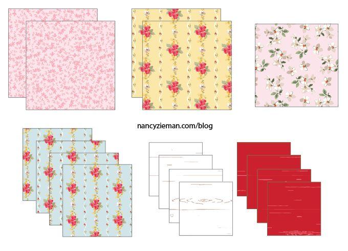 BlockA Fabrics NancyZieman