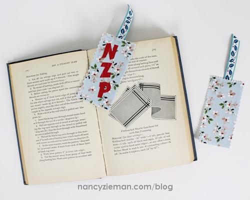 MaryMulari 5InchSquares BookMark