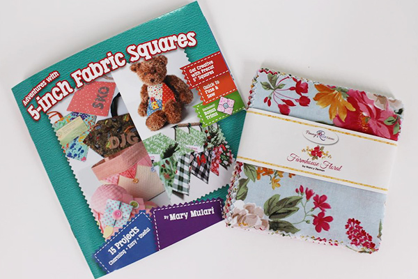 Adventures with 5 Inch Fabric Squares by Mary Mulari guest on Sewing With Nancy Zieman