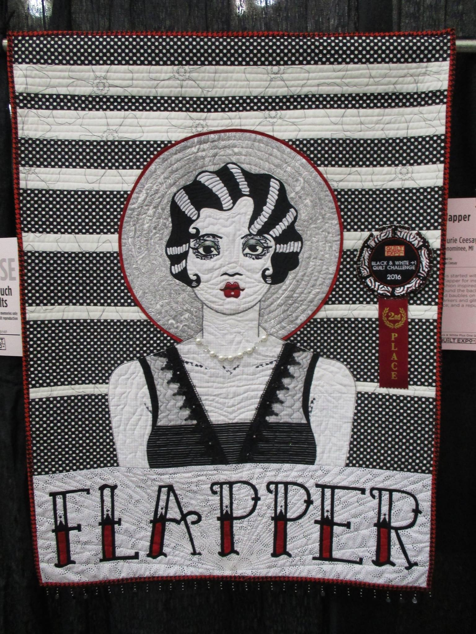 Quilt_Expo_Black_and_White_Plus_One_Second_Place_Winner