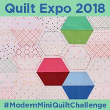 Modern Mini Quilt Challenge