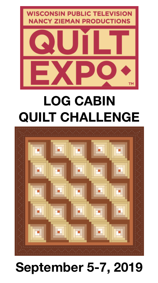 Quilt Expo 2018 Log Cabin Challenge