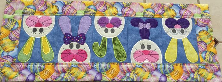 2018 Nancy Zieman Productions Table Runner Sewing Challenge Winners Announced