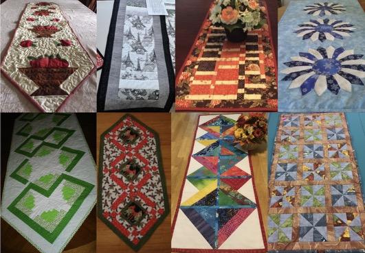2018 Nancy Zieman Productions Table Runner Sewing Challenge