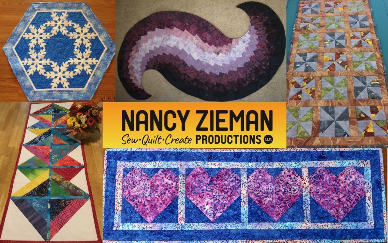 Nancy Zieman Productions 2018 Table Runner Sewing Challenge Winners