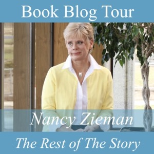Nancy Zieman The Rest of The Story Book Blog Tour Badge