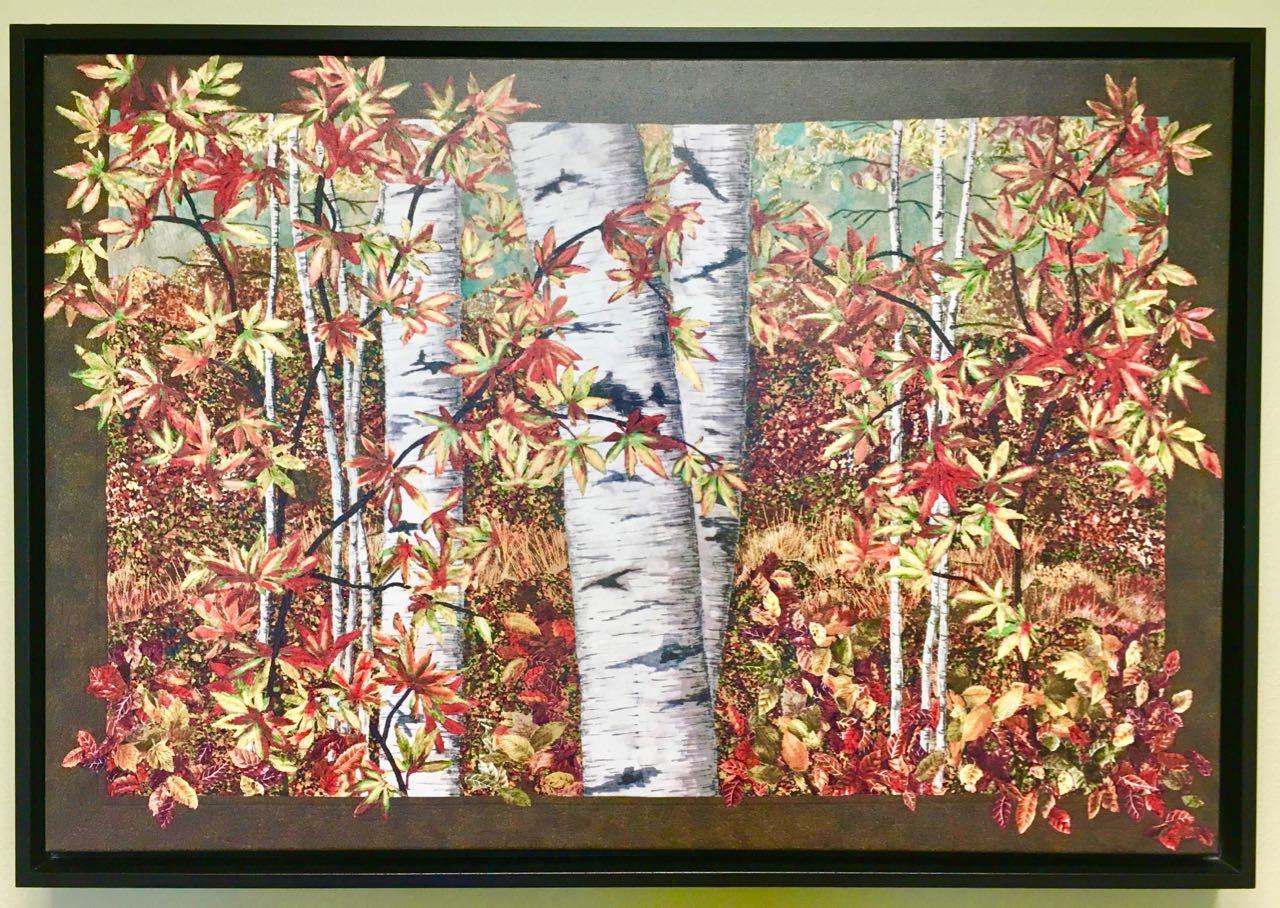 Peak Color Original Giclée Canvas Print Reproduction of Artwork by Nancy Zieman available at shopnzp.com