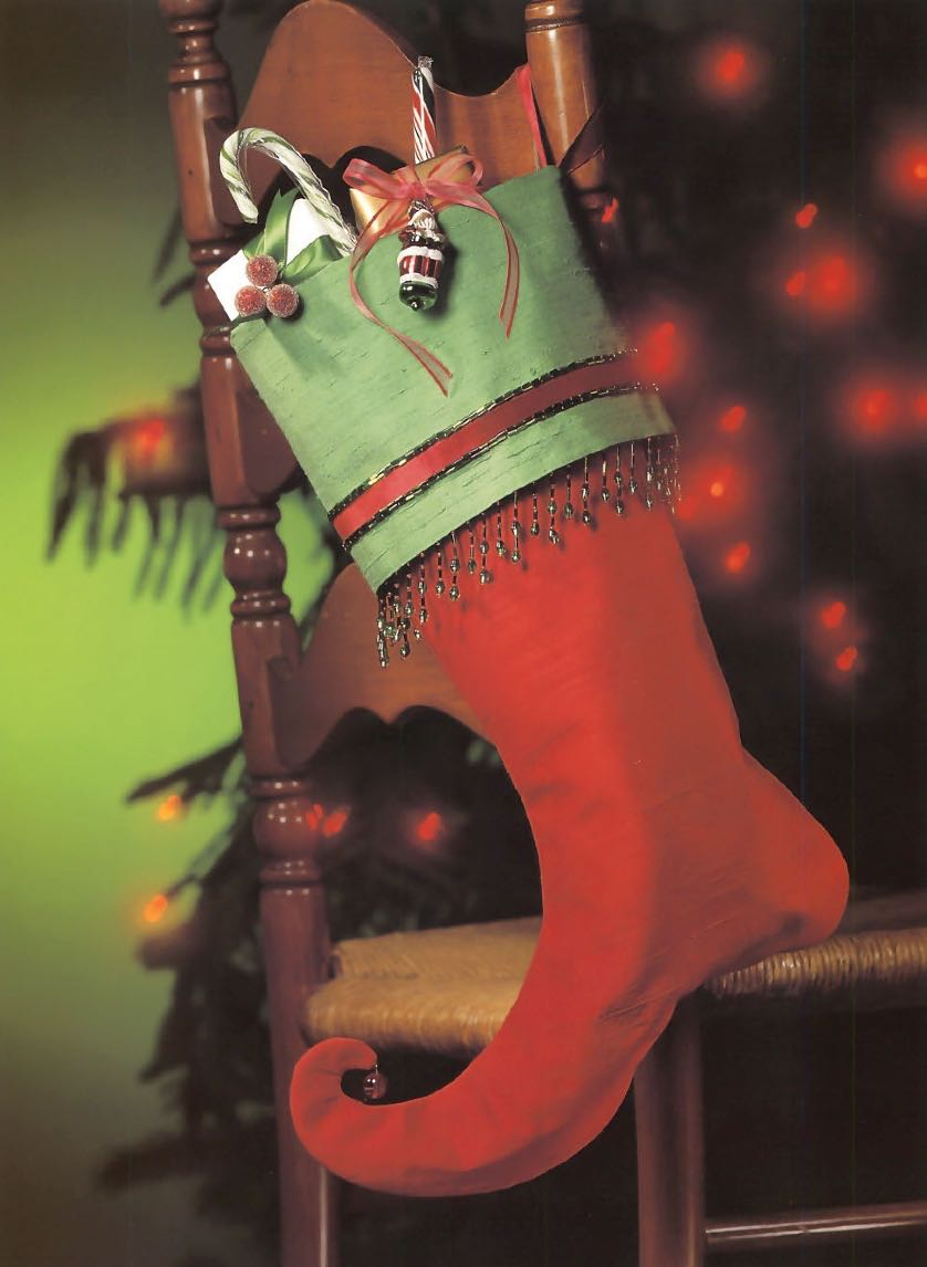 Martingale Publishing Freebie Christmas Stocking Pattern