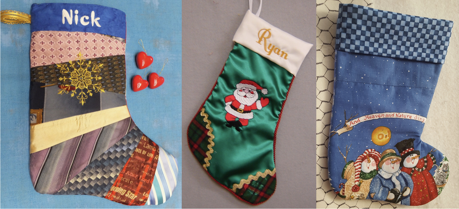 2018 NZP Christmas Stocking Sewing Challenge 2