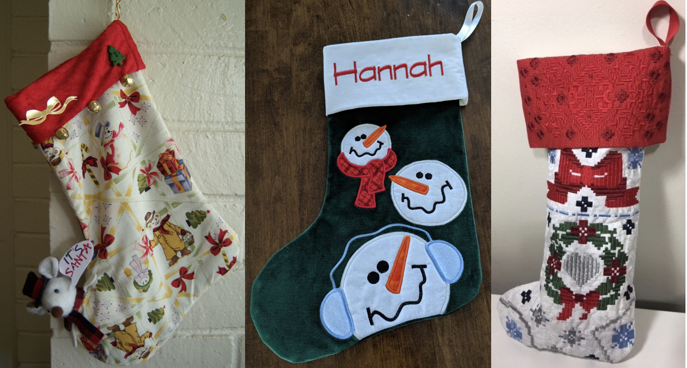 2018 NZP Christmas Stocking Sewing Challenge 3