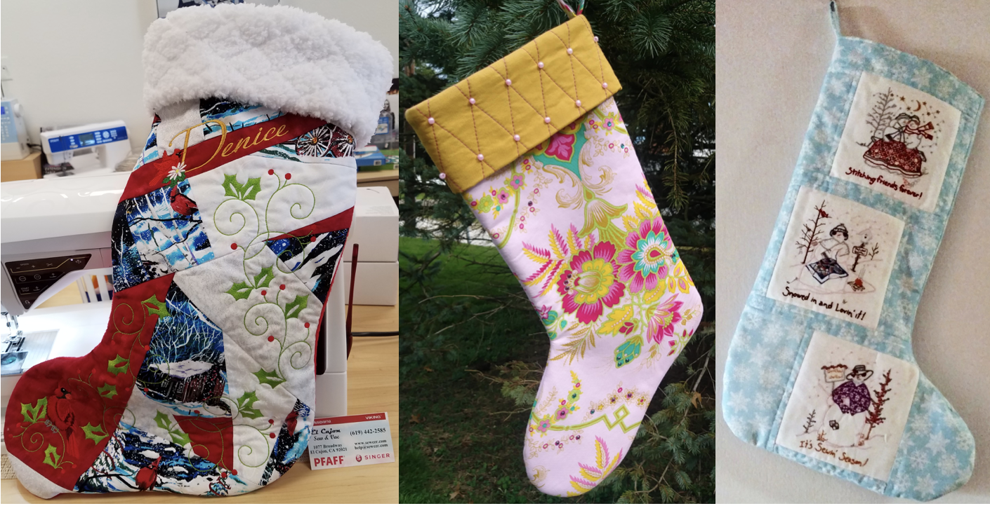 NZP Christmas Stocking Sewing Challenge 1