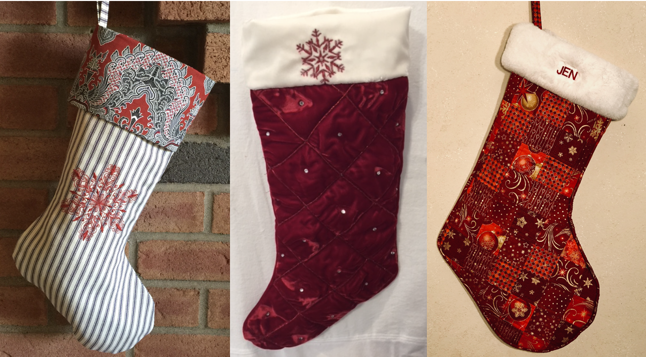 NZP Christmas Stocking Sewing Challenge 2018 1