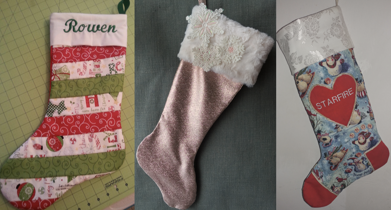 NZP Christmas Stocking Sewing Challenge 2018 11