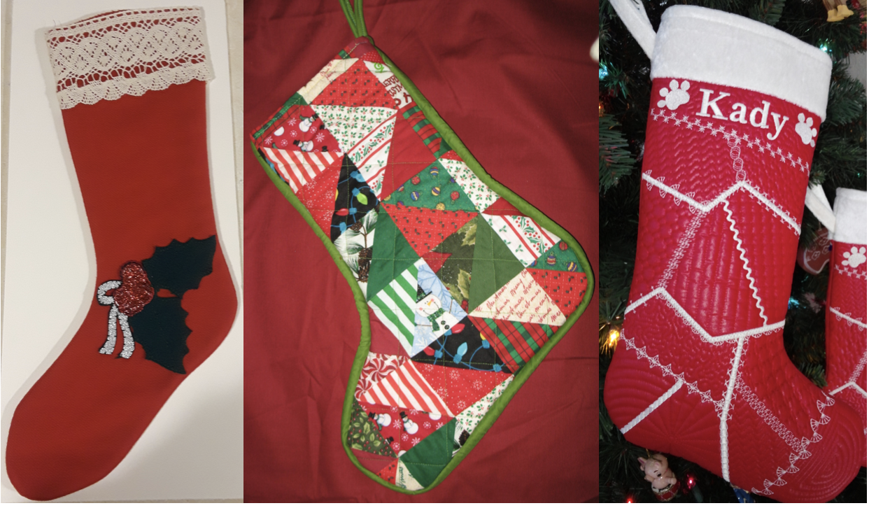 NZP Christmas Stocking Sewing Challenge 2018 2