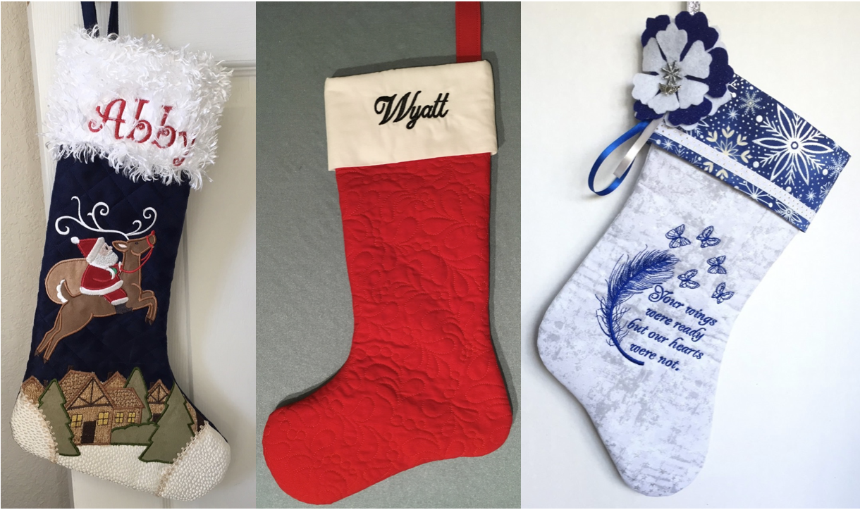 NZP Christmas Stocking Sewing Challenge 2018