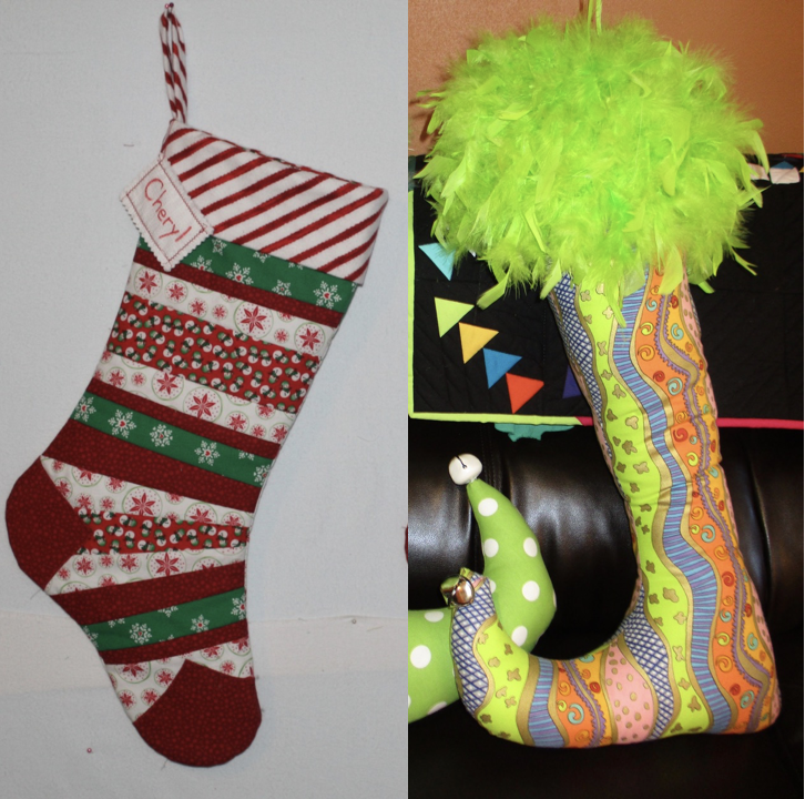 NZP Christmas Stocking Sewing Challenge 20181