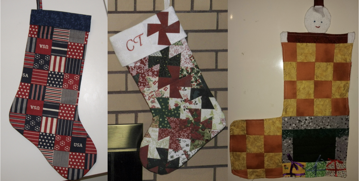 NZP Christmas Stocking Sewing Challenge