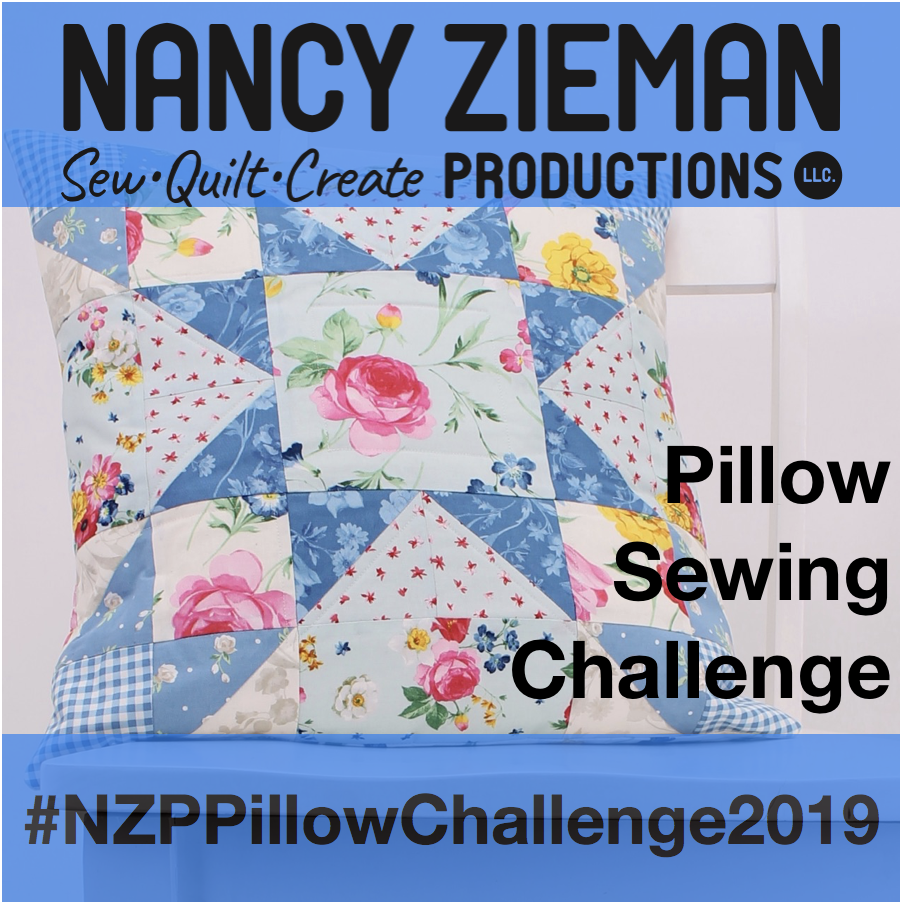 2019 NZP Pillow Sewing Challenge