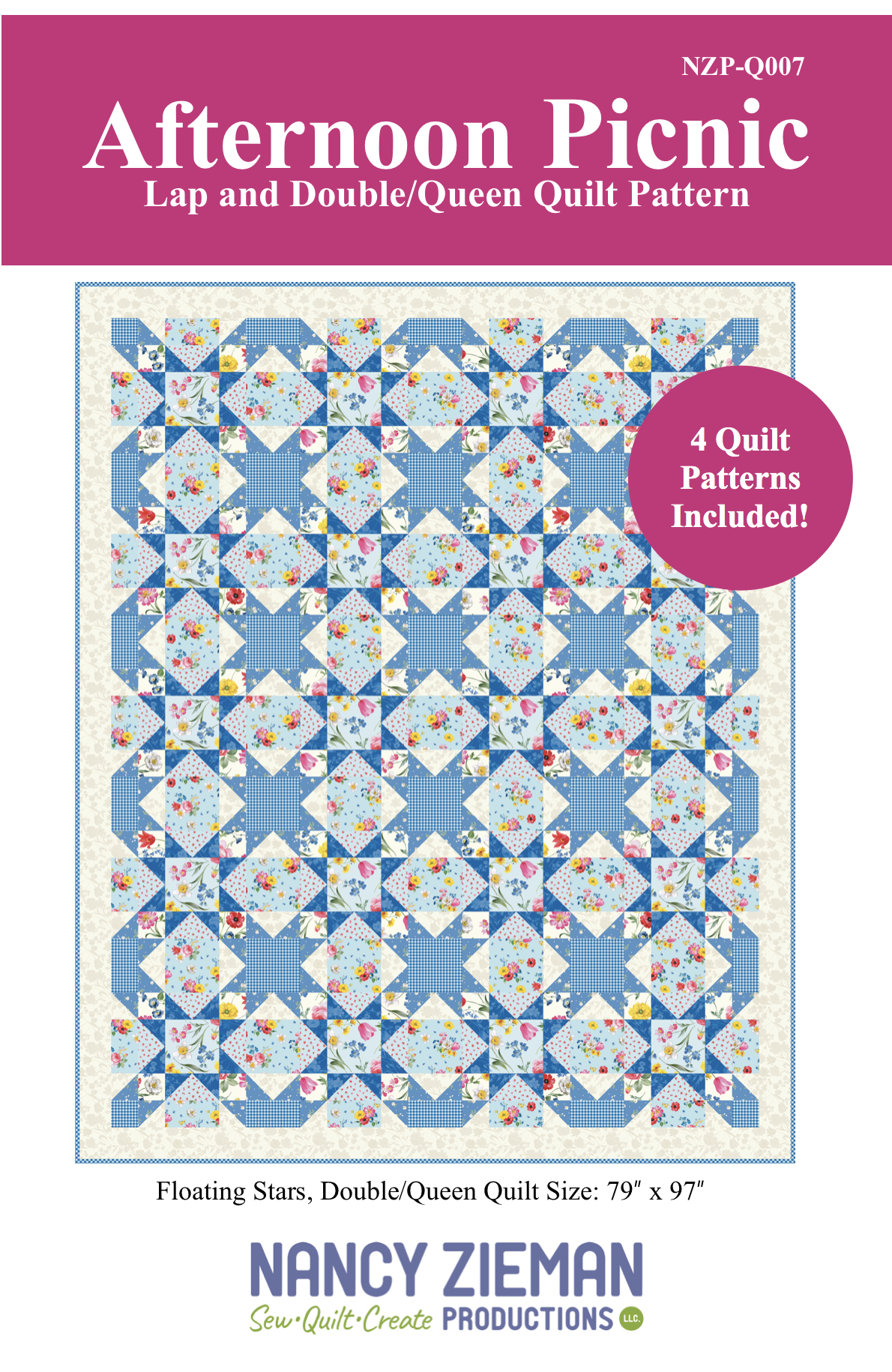 Afternoon Picnic Pattern Cover
