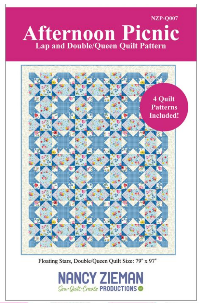 Afternoon Picnic Quilt Pattern by Nancy Zieman Productions