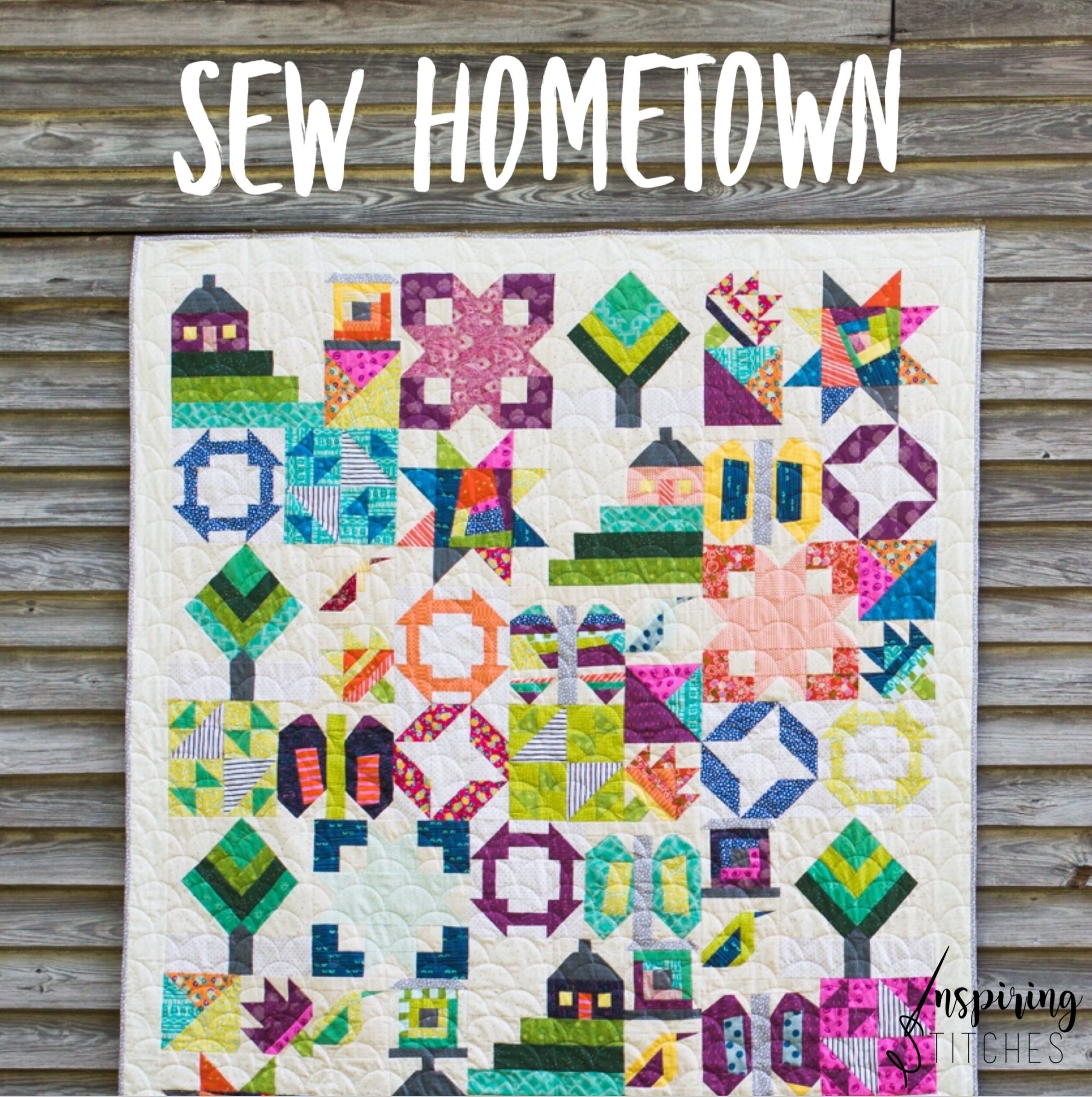 Sew Hometown by Inspiring Stitches