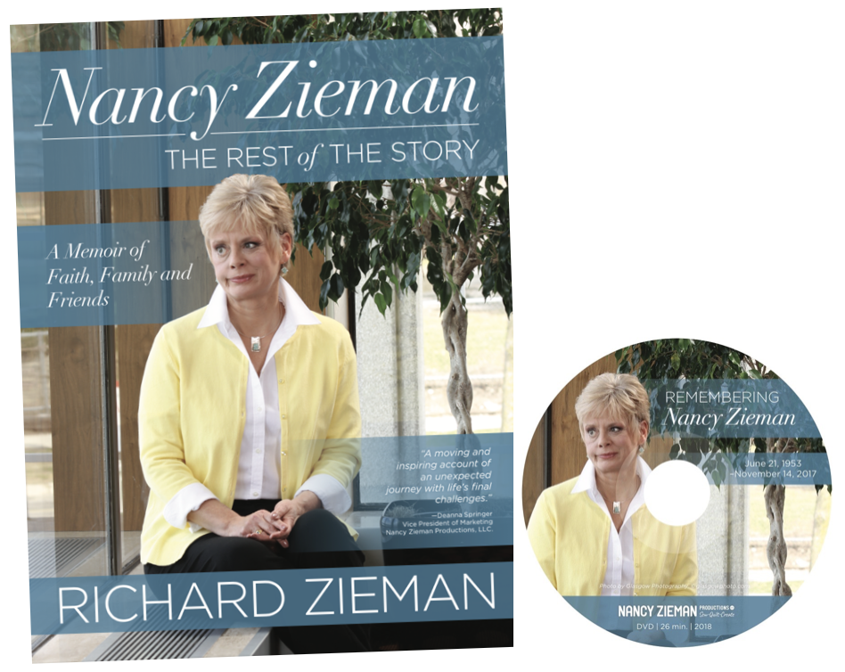Nancy Zieman The Rest of the Story Nancy Zieman The Rest of the Story Book and DVD by Richard Zieman with Richard Zieman and Book Giveaway