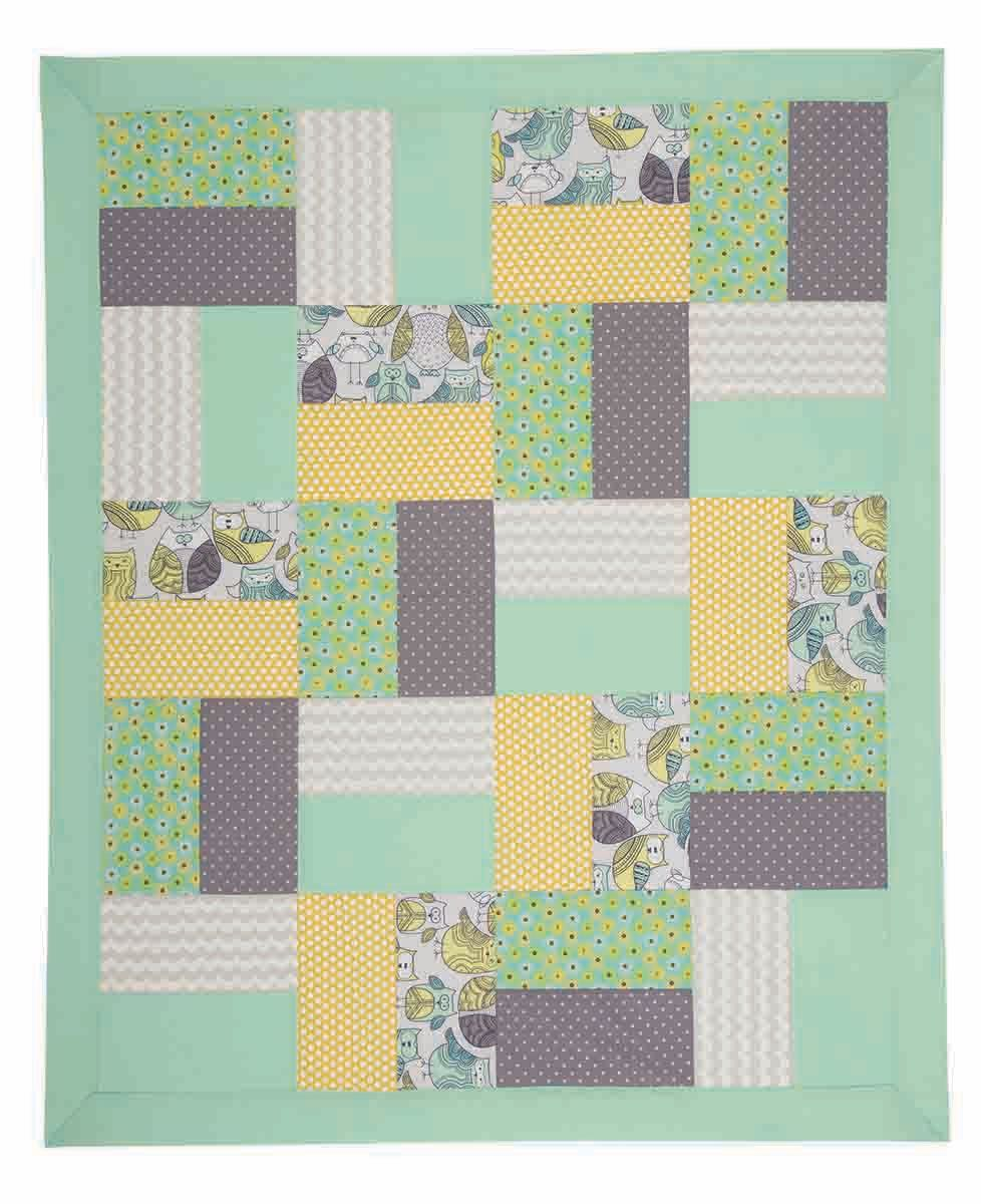 I Sew For Fun Two Piece Block Quilt Sewing Tutorial at The Nancy Zieman Productions Blog