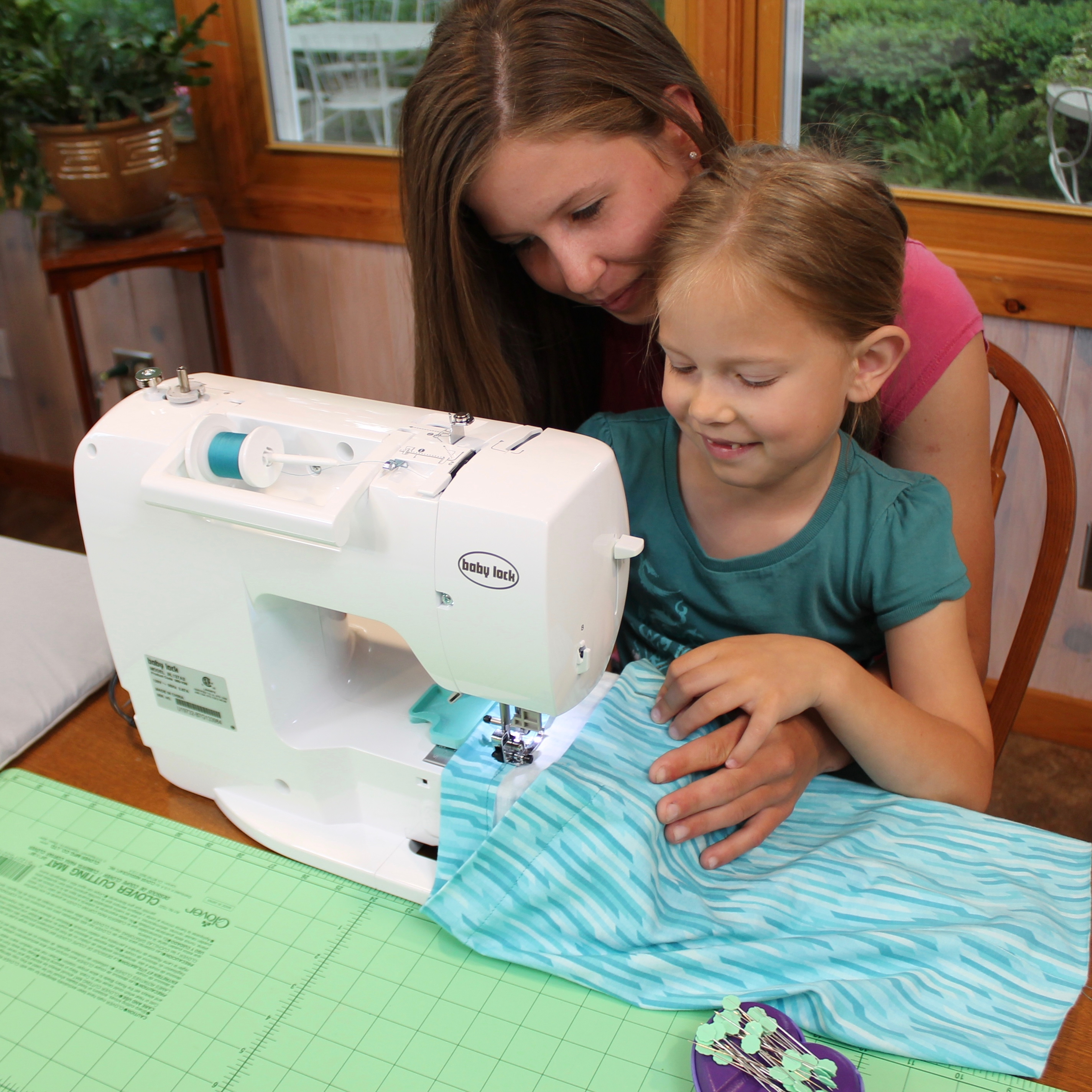 I Sew For Fun Super Simple Skirt Sewing Tutorial at The Nancy Zieman Producitons Blog