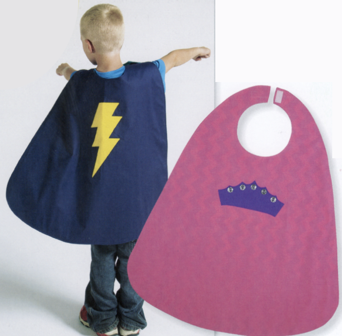 I Sew For Fun Superhero Cape Sewing Tutorial at The Nancy Zieman Productions Blog