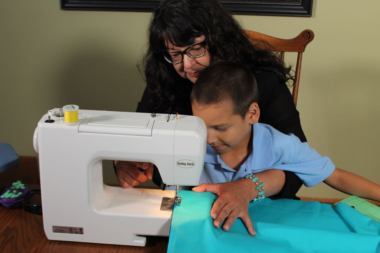 I Sew For Fun Superhero Cape Tutorial as seen on Sewing with Nancy with Host Nancy Zieman