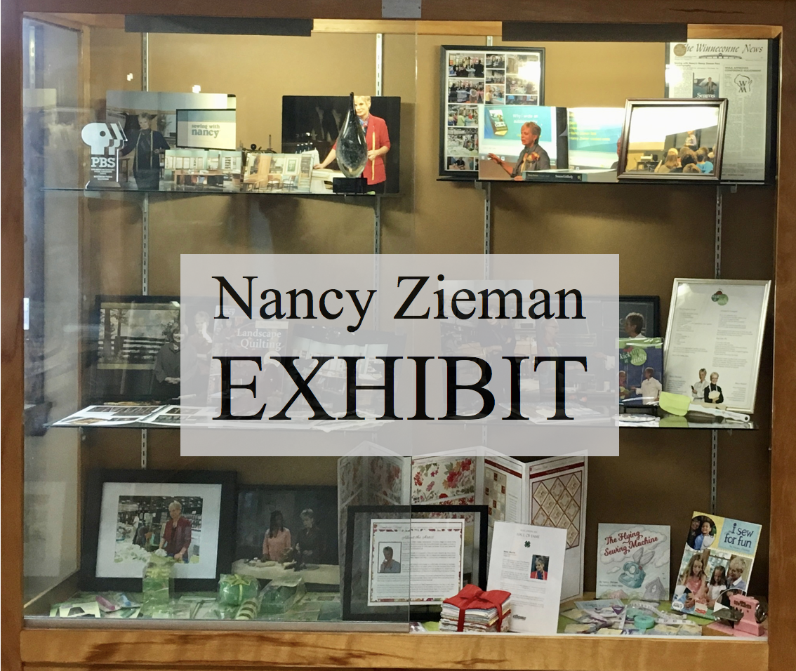 Nancy Zieman Exhibit on Display in Winneconne Wis Summer 2019