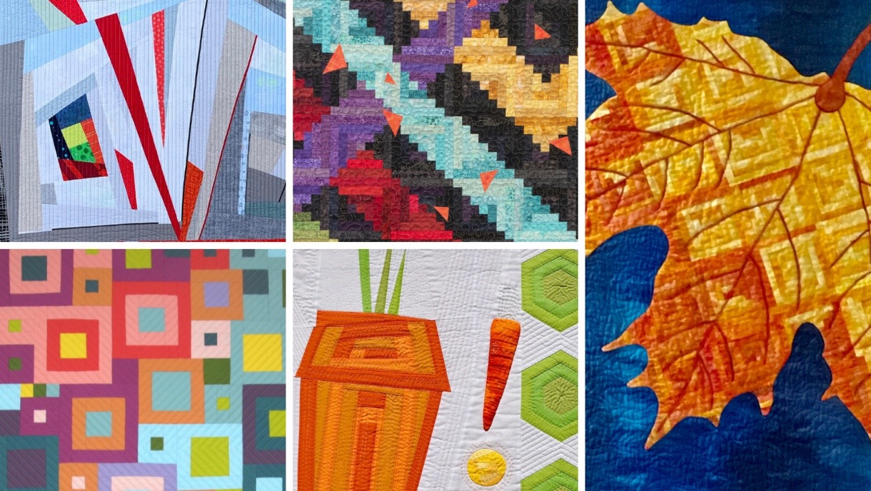 2019 Quilt Expo Log Cabin Quilt Challenge at Quilt Expo in Madison, Wis