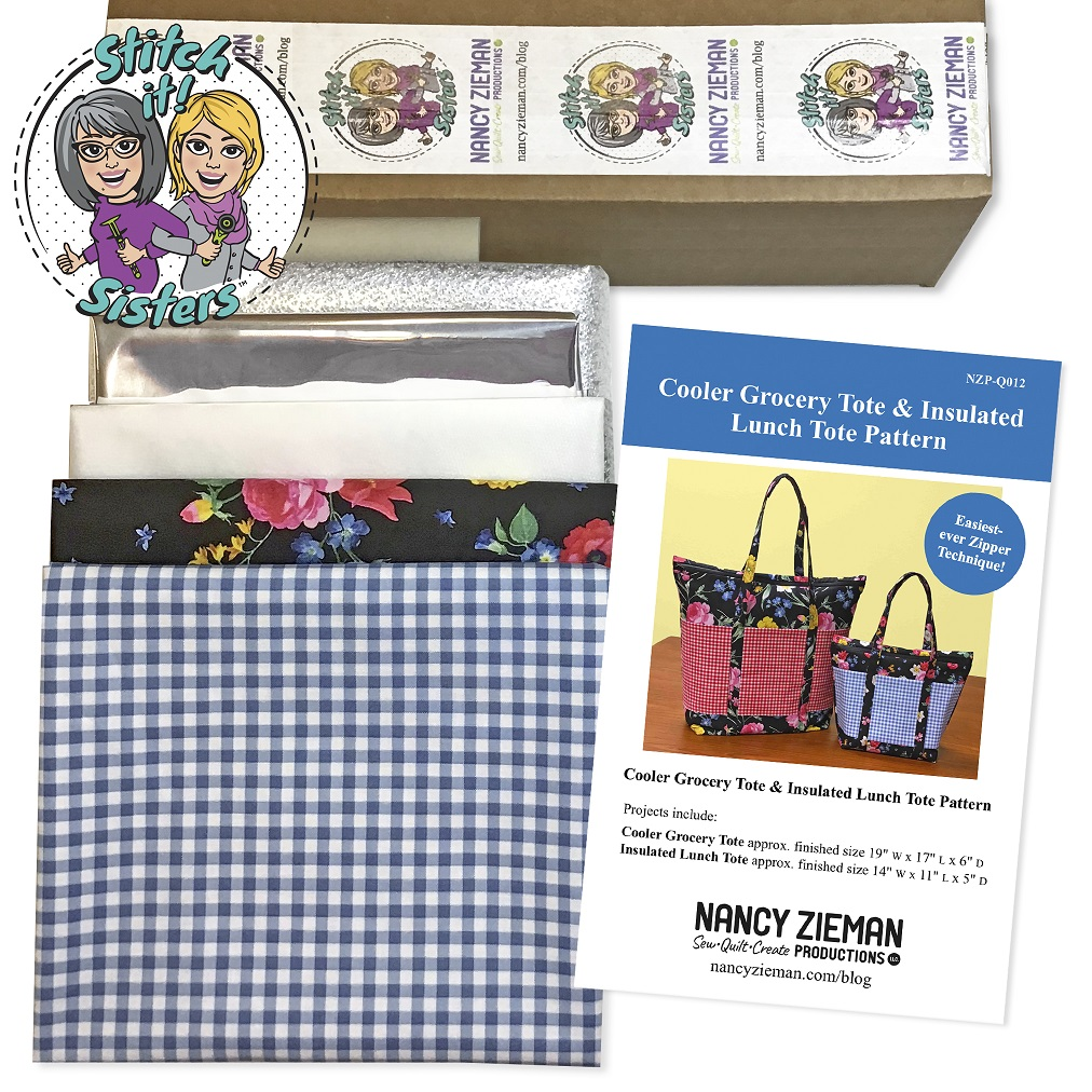 Stitch it! Sisters Insulated Lunch Tote Bundle Box now available at shopnzp.com