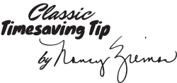 Timesaving Sewing Tips from Nancy Zieman