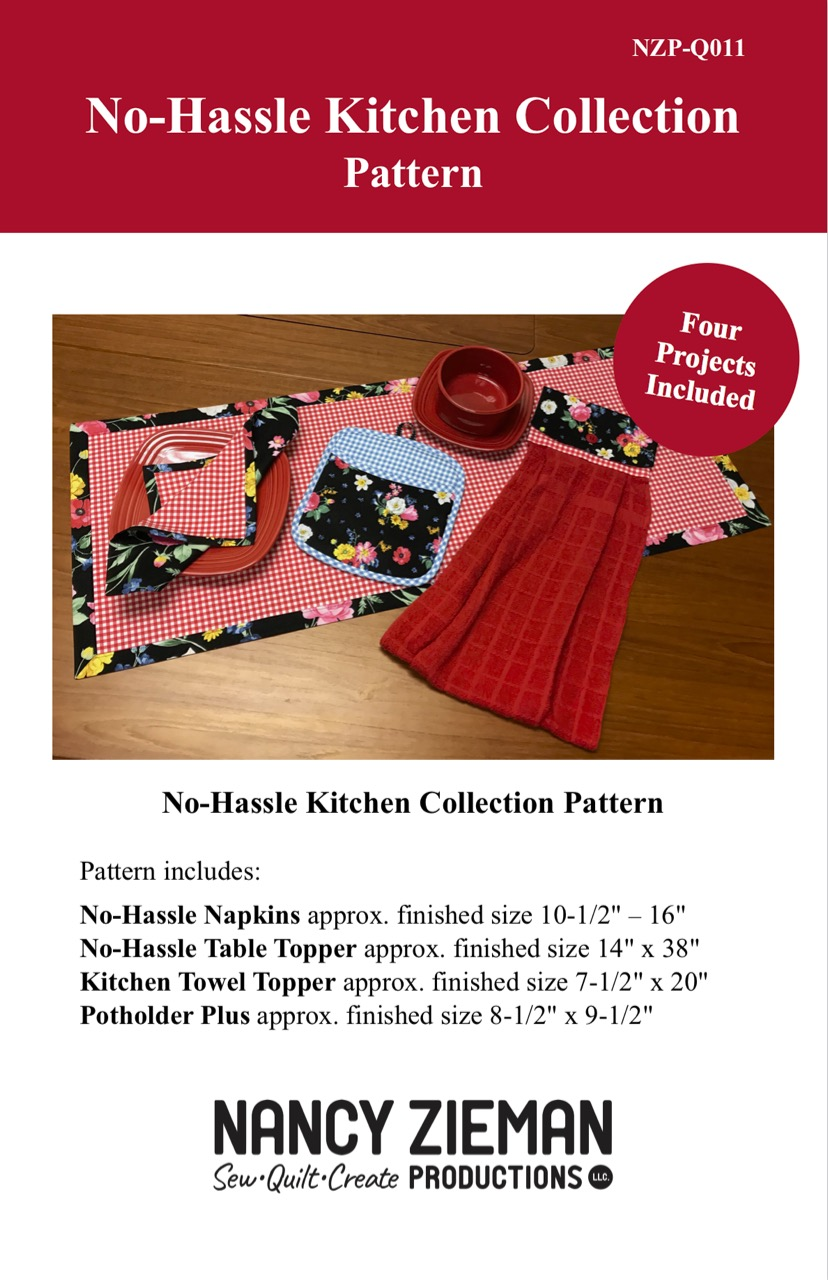 No-Hassle Kitchen Collection Pattern Available at ShopNZP.com
