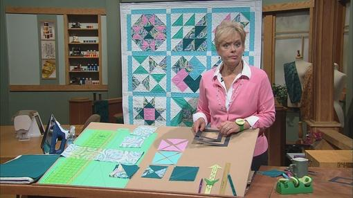 Watch No-Hassle Triangles Quilt Blocks - Part 2 on Sewing With Nancy
