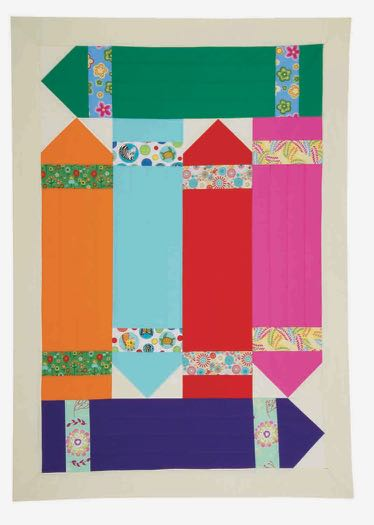 I Sew For Fun Crayon Quilt Sewing Tutorial at the NZP Blog