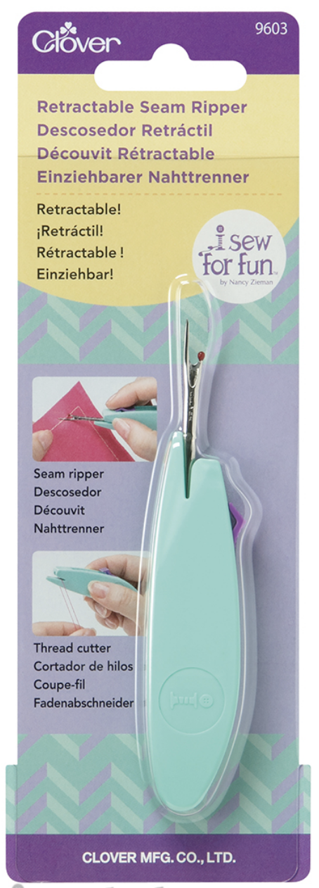 I Sew For Fun Retractable Seam Ripper available at ShopNZP.com