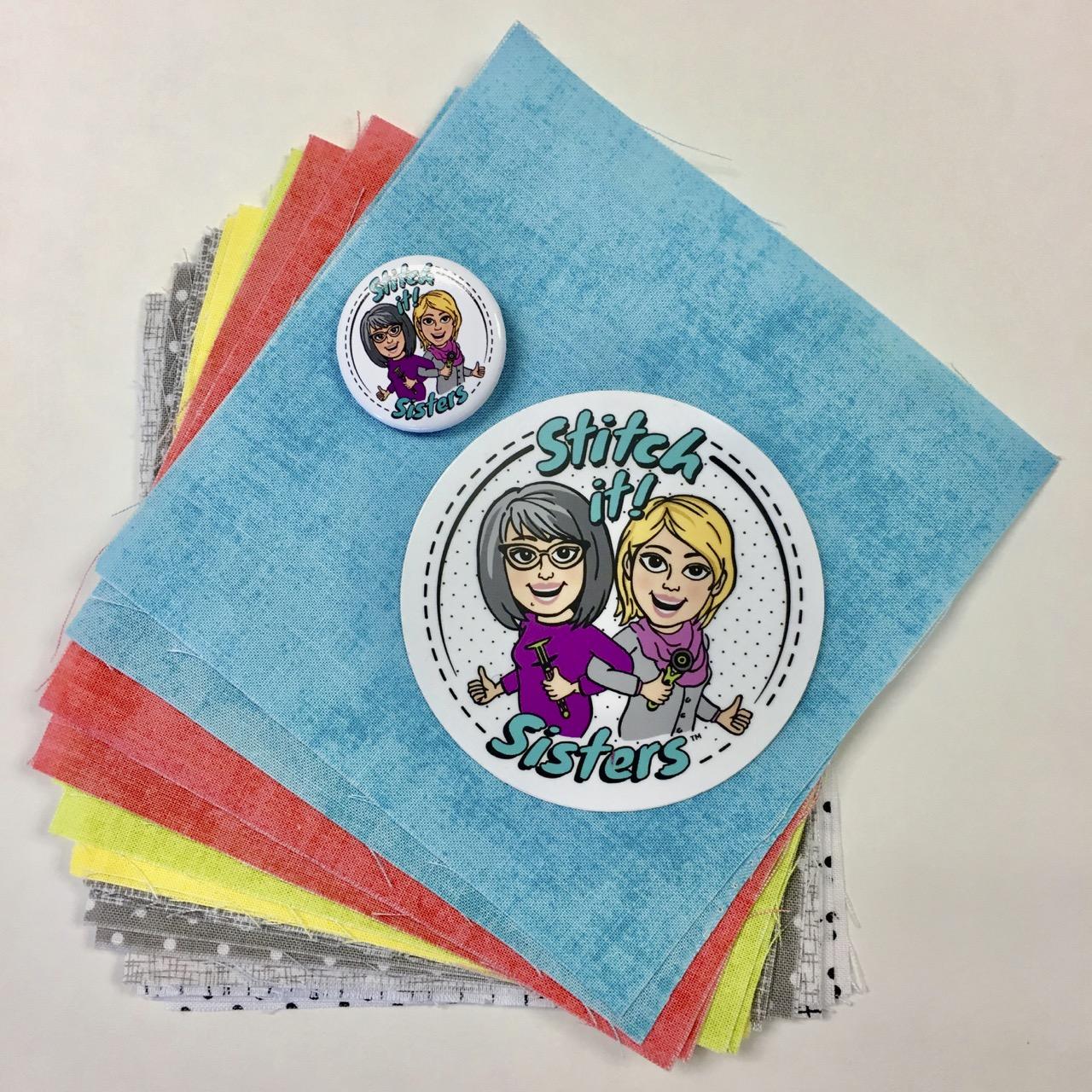 """Stitch it! Sisters 5"""" Fabric Short Stack stitchitsisters.com"""