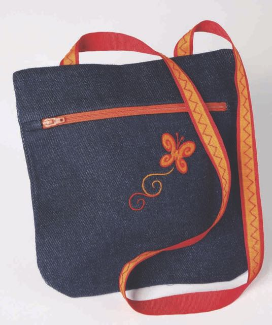 I Sew For Fun Shoulder Bag Sewing Tutorial at the Nancy Zieman Productions Blog